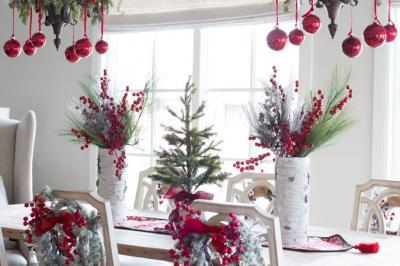 Dekorasi Natal 2019, Ubah Tata Meja Makan dengan 5 Sentuhan Ini