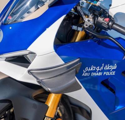 Superbike Ducati Jadi Motor Patroli Polisi