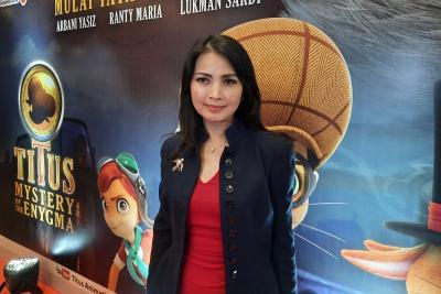 Titus Mystery of the Enygma segera Tayang, Liliana Tanoesoedibjo: Inspirasi Anak Indonesia