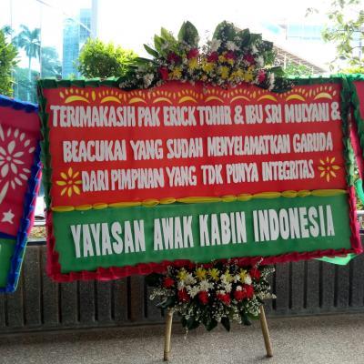 Erick Thohir Dikirimi Banyak Karangan Bunga, Pesannya: Terima Kasih Sudah Selamatkan Garuda