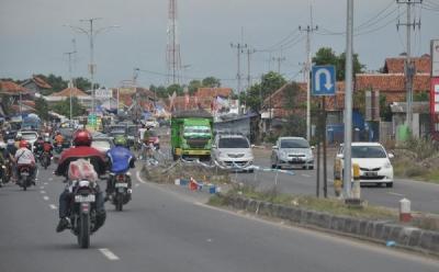 Beton Penutup Putaran Balik di Jalan Satrio Dibongkar, Dishub DKI Perkuat Pengawasan