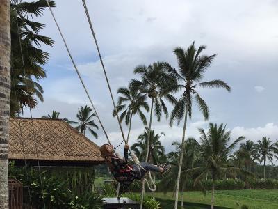 Uji Adrenalin Naik Ayunan Ekstrem di Bedugul Bali, Dijamin Histeris!