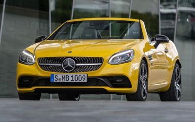 Terakhir Diproduksi, Intip Spesifikasi Mercedes SLC Final Editon