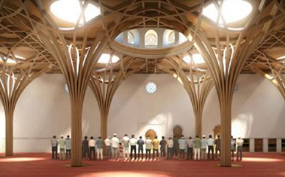 Erdogan Resmikan Pembukaan Masjid Cambridge di Inggris