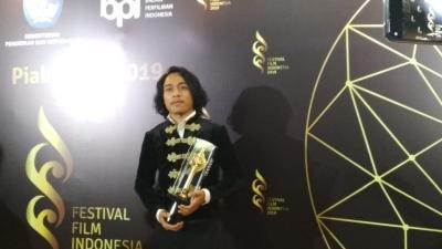 Sabet Piala Citra, Muhammad Khan Nyanyi Lagu India di Panggung FFI 2019