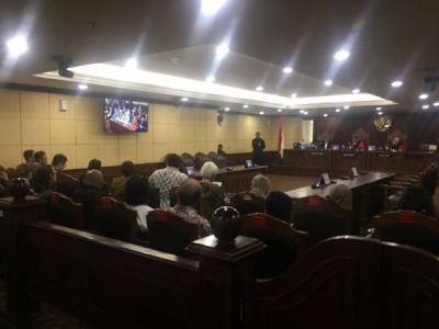Sidang Perdana di MK, Agus Rahardjo Cs Anggap UU KPK Cacat Formil & Prosedural