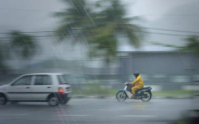 Sebagian Langit Jakarta Diprediksi Hujan di Siang Hari
