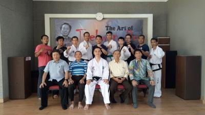 Seni Bela Diri Taekwondo Diperkenalkan kepada Masyarakat Surabaya