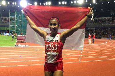 Cedera Tumit Tidak Hambat Nova Emilia Raih Medali Emas di SEA Games 2019