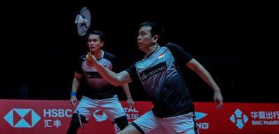 Lolos ke Semifinal, Ahsan Hendra Alihkan Fokus ke Laga Pamungkas Penyisihan Grup
