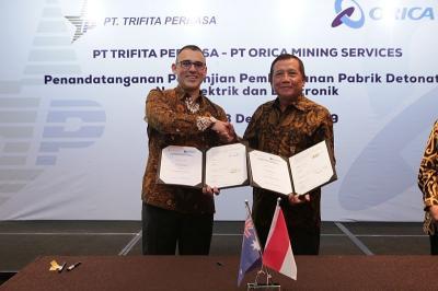 Indonesia-Australia Kerja Sama Bangun Pabrik Detonator