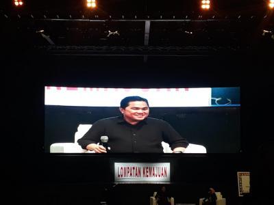 Erick Thohir Ajak Milenial Dominasi Perusahaan BUMN