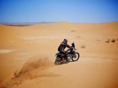 Uji Ketangguhan, Motor Trail Listrik Ini Turun di Reli Dakar 2020