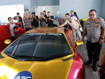 Polda Jatim Ambil Alih Penanganan Kasus Mobil Lamborghini yang Terbakar