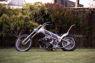 Modifikasi Honda Drax Jadi Chopper 'Cebol'