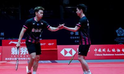Marcus Kevin ke Final, Ganda Putra Sabet Gelar Juara Indonesia Masters 2020
