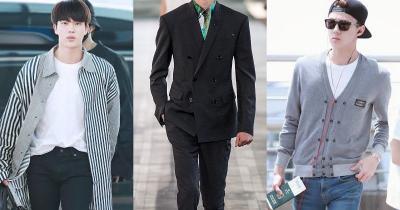 Sehun EXO dan Jin BTS Pakai Jas yang Sama, Siapa Lebih Ganteng?