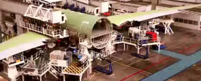 Besar, Peluang Penggunaan Komposit dalam Pembuatan Pesawat