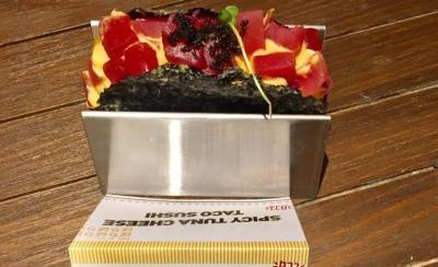 Trik Bikin Taco Sushi Serenyah di Restoran, Mudah Kok