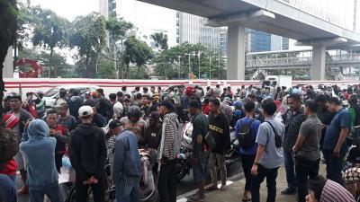 Demo Kemenkumham, Warga Tanjung Priok Tuntut Yasonna Minta Maaf