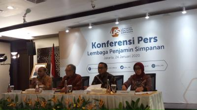 LPS Jamin Dana Rekening Sebesar Rp3.272 Triliun pada 2019
