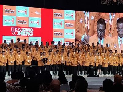Partai Hanura Resmi Kukuhkan Pengurus DPP Periode 2019-2024