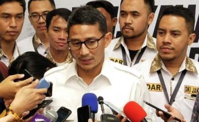 Sandiaga Uno Sepakat dengan Jokowi soal Pilpres 2024