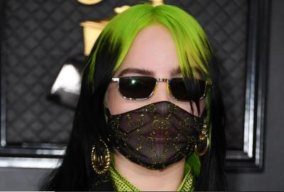 Billie Eilish Pakai Masker Gucci di Grammy Awards 2020, Antisipasi Virus Korona Wuhan?
