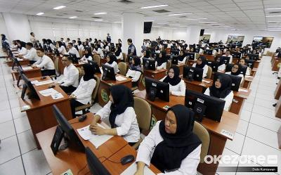 CPNS Badan Intelijen Negara Ujian SKD di BKN