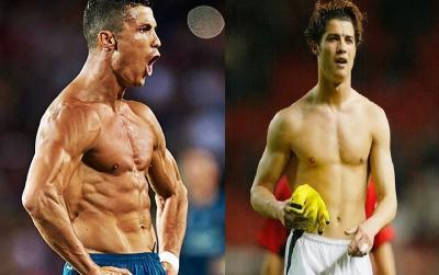 Hobi Makan Pizza, Ronaldo Ungkap Rahasia Bisa Punya Tubuh Atletis dan Berotot