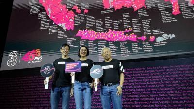Gelar 5G, 3 Indonesia Tunggu Roadmap Pemerintah