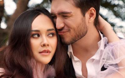 Aura Kasih Ungkap Sayangnya ke Eryck Amaral, Bikin Jealous
