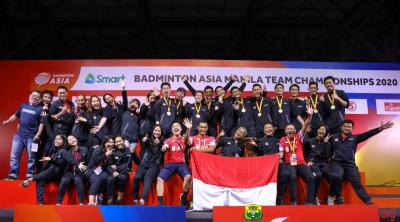 Indonesia Juarai Kejuaraan Beregu Asia, Susy Optimis Tatap Piala Thomas 2020