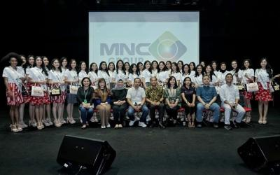 Keseruan 34 Finalis Miss Indonesia Mengintip Newsroom MNC Media