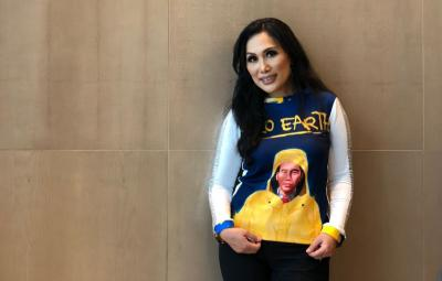 Mejeng di New York Fashion Week, Sweater Wajah Jokowi Dibuat dalam 1,5 Bulan