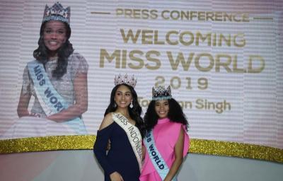 Miss World 2019 Toni Ann-Singh Berbagi Inspirasi untuk Finalis Miss Indonesia 2020