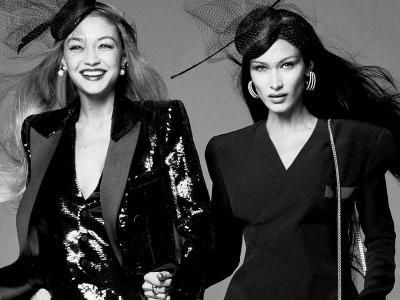 Bella dan Gigi Hadid Tampil Memukau di Cover Majalah Vogue