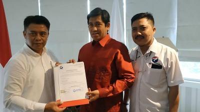 Didukung Perindo, Herwin Yatim Targetkan Kemenangan 62% di Pilbup Banggai