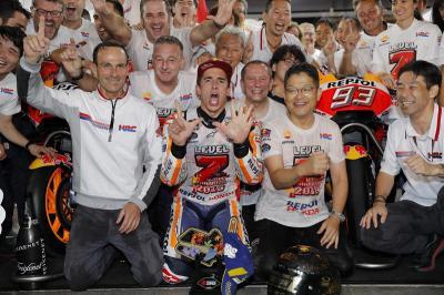Perpanjang Kontrak di Honda, Marquez: Saya Siap Lanjutkan Kesuksesan!