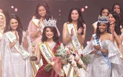Ungkapan Cinta Carla Yules untuk Ayahnya yang Berulang Tahun di Final Miss Indonesia 2020