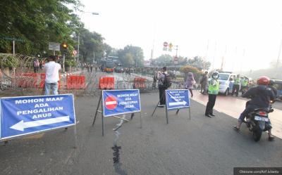 Berikut 7 Rekayasa Lalu Lintas saat Aksi 212 di Istana Negara
