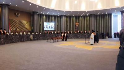 3 Ketua Kamar Mahkamah Agung Resmi Dilantik