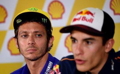 Rossi Anggap Aneh Kontrak 4 Tahun Marquez dengan Honda