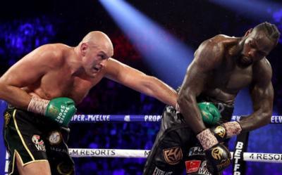 Kalah dari Tyson Fury, Deontay Wilder Kesal Dipaksa Menyerah oleh Tim
