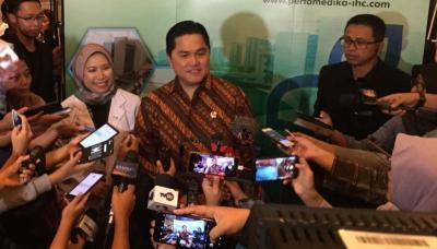 Menteri Erick Tegaskan PMN Bukan Satu-satunya Solusi Selamatkan Jiwasraya