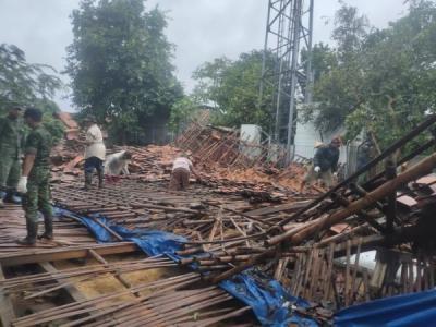 Rusak Diterpa Puting Beliung, SMPN 16 Direnovasi Bulan Depan