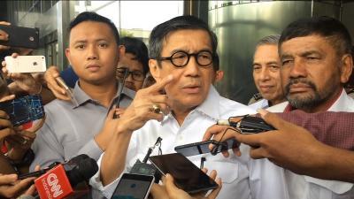 Yasonna Ngaku Tak Tahu Isu Reshuffle Kabinet