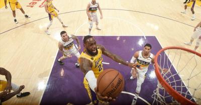 LA Lakers Tumbangkan New Orleans Pelicans