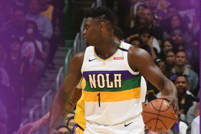Lakers vs Pelicans, LeBron James Puji Zion Williamson