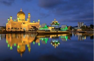 Deretan Masjid Indah di Brunei Darussalam, Nomor 2 Masjid Terbesar